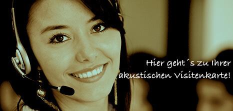Telefonansagen-audiomarketeers Home